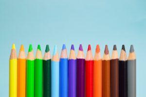 色鉛筆、教育