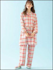 エンジェリーベ、前開きパジャマ
