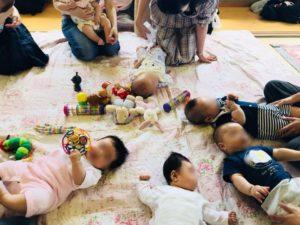 児童館、赤ちゃん
