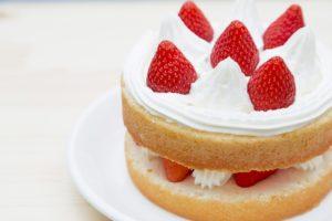 ケーキ、誕生日