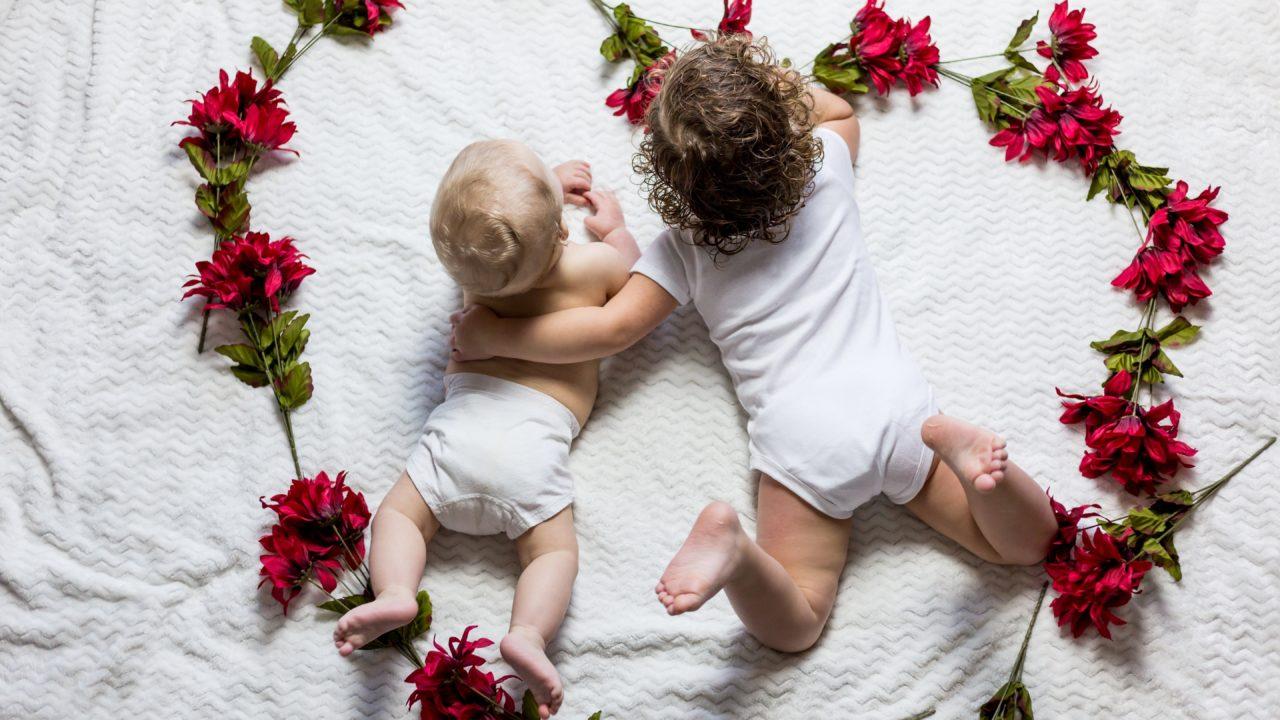 子ども、赤ちゃん、寝相
