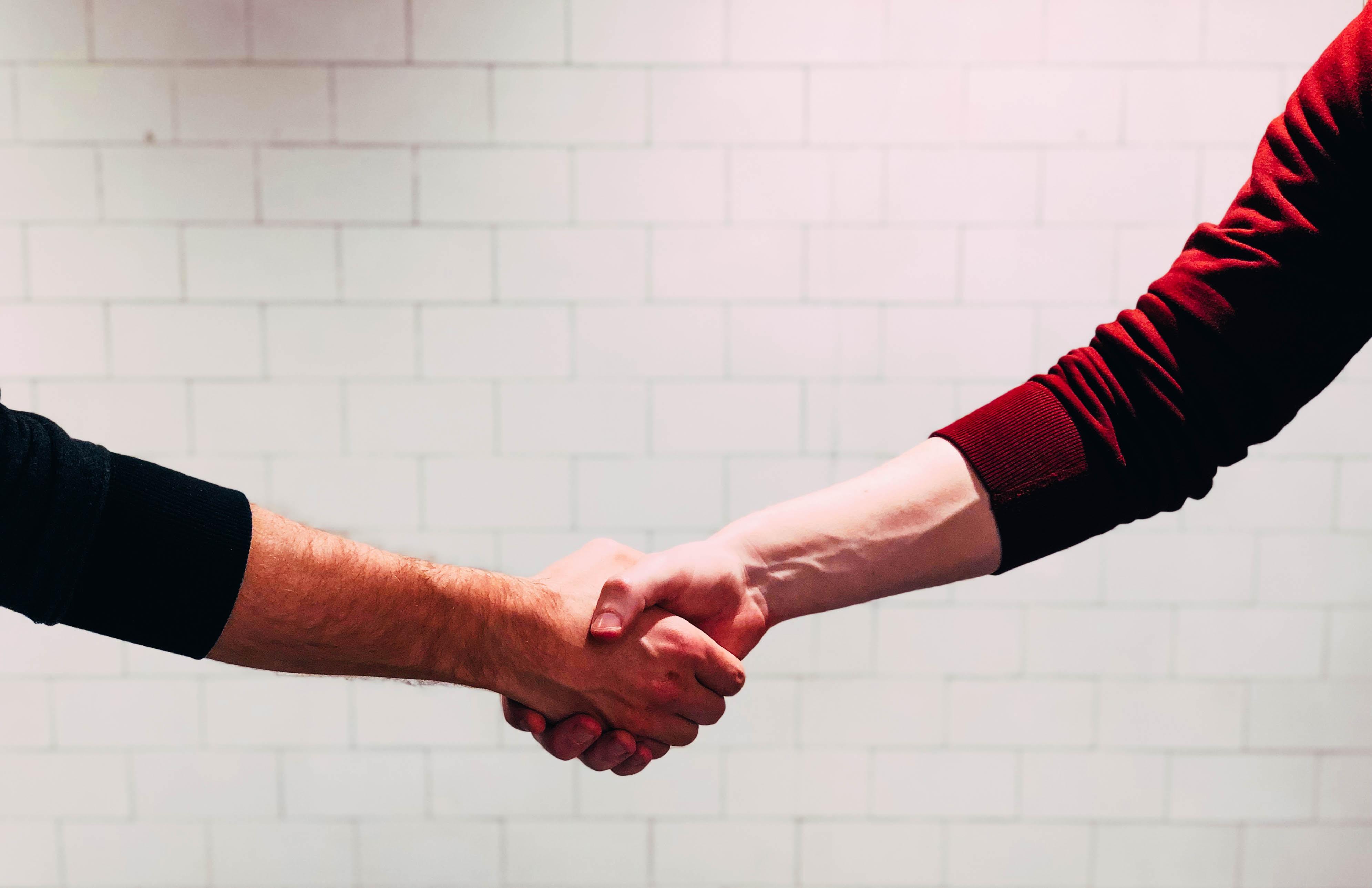握手、関係性