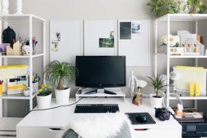 自宅、仕事、ブログ